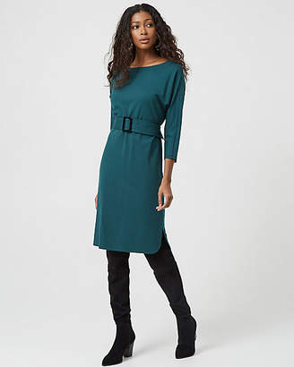 Le Château Ponte Belted Tunic Dress