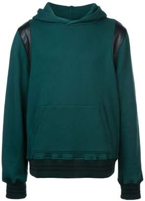 Amiri contrast detail hoodie