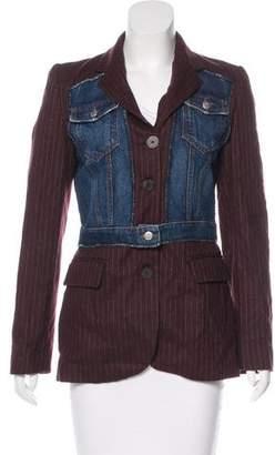Jean Paul Gaultier Vintage Pinstripe Blazer