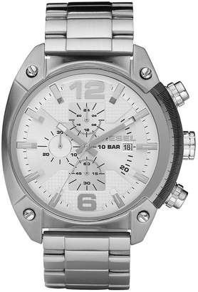 Diesel Men's Chronograph Stainless Steel Bracelet Strap Watch 49x46mm DZ4203