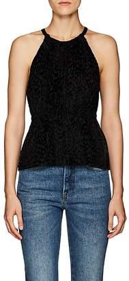 A.L.C. Women's Rosario Leopard-Pattern Velvet Top