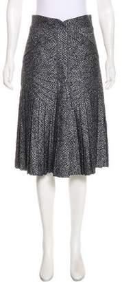 Zac Posen Printed Knee-Length Skirt