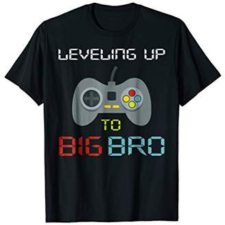 Promoted To Big Brother Shirt Leveling up to Big Bro
