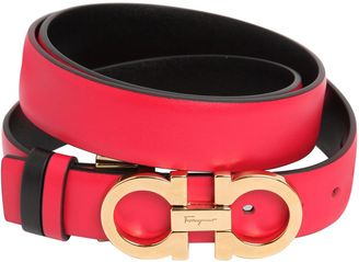 25mm Reversible Leather Belt $276 thestylecure.com