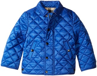 Burberry Kids - Mini Luke Quilted Jacket Boy's Coat $185 thestylecure.com