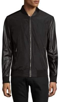 Karl Lagerfeld Full Zip Bomber Jacket