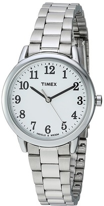 Timex - Easy Reader Stainless Steel Bracelet Watches $55 thestylecure.com
