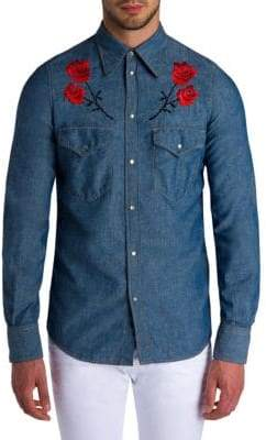 Viktor & Rolf Floral Embroidered Shirt