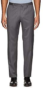Incotex MEN'S MORGAN FLAT-FRONT WOOL TROUSERS
