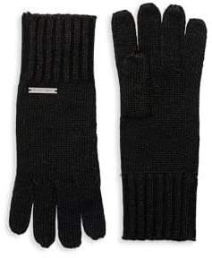 MICHAEL Michael Kors Long Knit Gloves