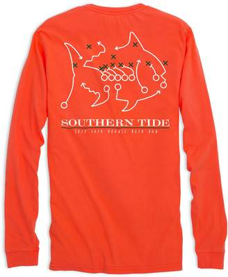 Southern Tide Skipjack Play Long Sleeve T-shirt - University of Miami