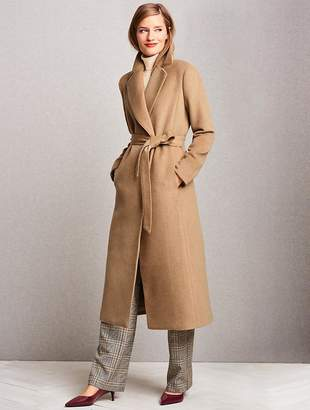 Talbots Luxe Camel Hair Coat