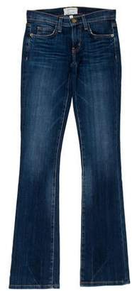Current/Elliott Beacon Slim Mid-Rise Bootcut Jeans