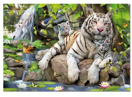 Educa White Tigers Of Bengal