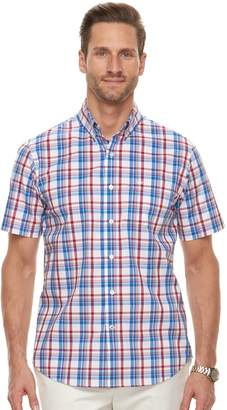Dockers Men's Comfort Stretch Classic-Fit Button-Down Shirt
