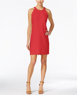 Maison Jules Scalloped Shift Dress, Only at Macy's $89.50 thestylecure.com