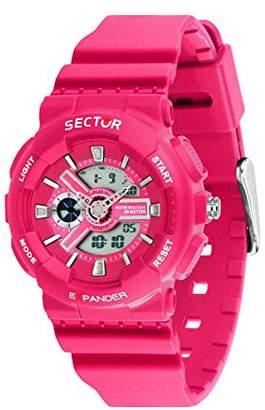 Sector Women's 'Ex-15' Quartz Resin and Plastic Sport Watch