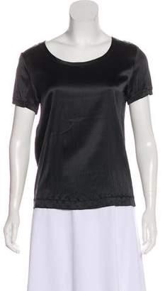 Etro Scoop Neck Short Sleeve T-Shirt