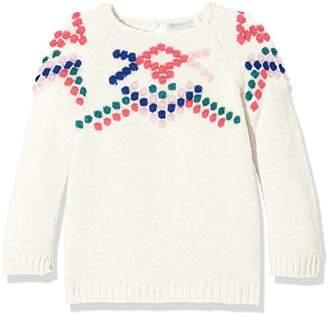 Benetton Baby Girls' Sweater L/s Sweatshirt