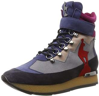 Högl Women's 4-10 0822 3299 Boots, (Blue Multi 3299)