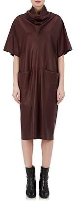 Maison Margiela WOMEN'S LEATHER TUNIC DRESS