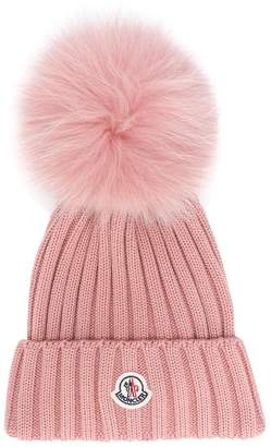 248838e8246 ... hat quick look. moncler 97bd1 ae0a8 promo code for shop new in at  farfetch moncler pom pom beanie e68cb 63514 ...