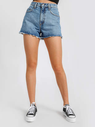 Nobody Denim Skyline Denim Shorts in Raw Marvel