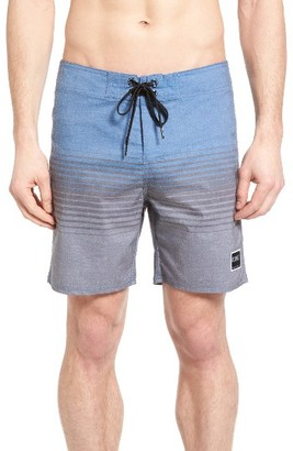 Men's Ezekiel Stripe Board Shorts $65 thestylecure.com