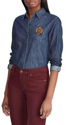 Lauren Ralph Lauren Long-Sleeve Denim Shirt
