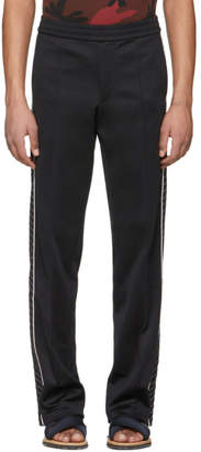 Valentino Black Contrast Lounge Pants
