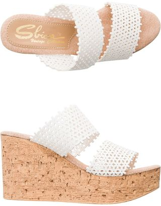 Sbicca Romia Double Strap Wedge $69.95 thestylecure.com