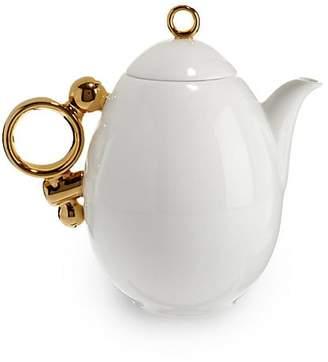 Gourmet Dining Prouna Geometrica Gold Rim Teapot