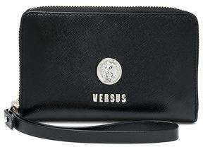 Versace Textured-Leather Wallet