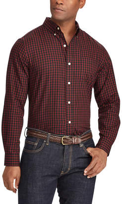 Chaps Men's Classic-Fit Plaid Button-Down Shirt