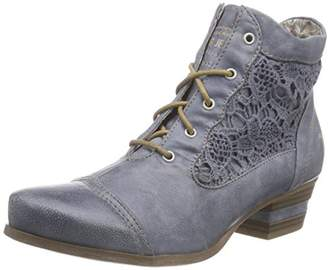 Mustang Women's 1187-501 Cold lined classic boots short length,UK