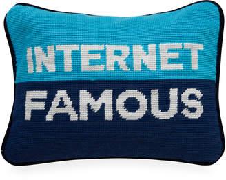 Jonathan Adler Internet Famous Needlepoint Pillow