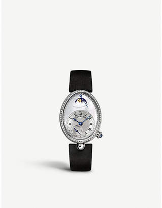 Breguet 8908BB/52/864/D00D Reine de Naples 18ct white-gold, mother-of-pearl and diamond watch