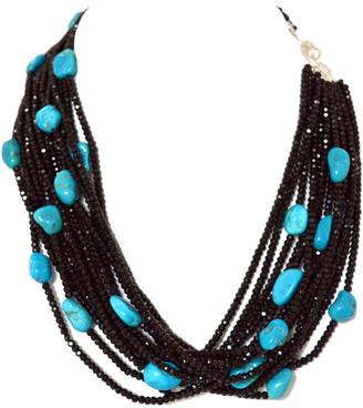 Arthur Marder Fine Jewelry Silver Spinel Necklace