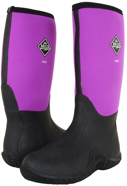 The Original Muck Boot Company Tack Classic (Purple) - Footwear