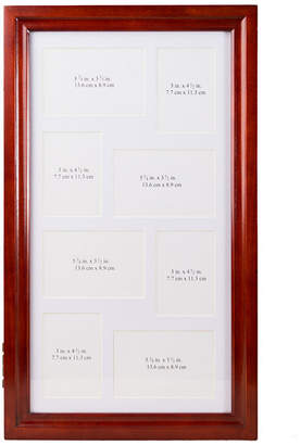 FINE JEWELRY Hives and Honey Cherry-Finish Jewelry Collage Frame