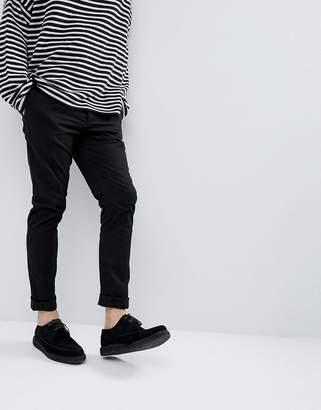 AllSaints Slim Chino In Black
