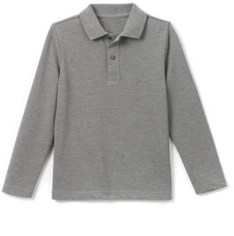 La Redoute COLLECTIONS Long-Sleeved Polo Shirt, 3-12 Years