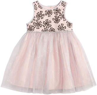 Marmellata Embroidered Flowers Dress, Baby Girls