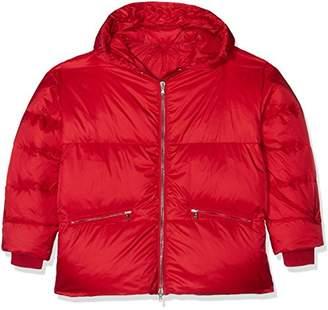 J. Lindeberg Women's Sloane Shiny Poly Coat,(Size:44)