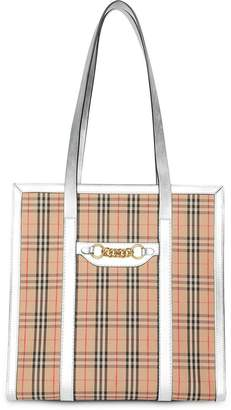 Burberry The Small 1983 Check Link Tote Bag