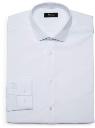 Theory Solid Slim Fit Dress Shirt