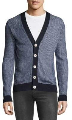 HUGO BOSS Two-Toned Cardigan