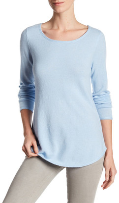In Cashmere Cashmere Pullover Sweater $224 thestylecure.com