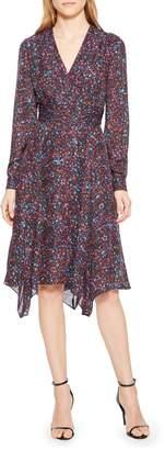 Parker Evanna Floral Print Midi Dress