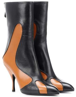 Bottega Veneta Leather ankle boots